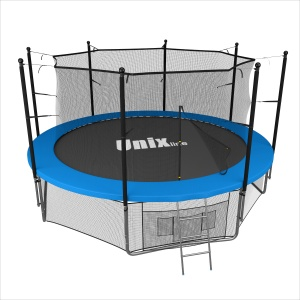 Спортивный батут UNIX line 14 ft inside (blue)