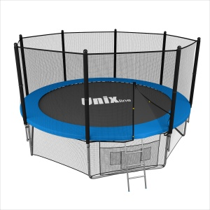 Спортивный батут UNIX line 14 ft outside (blue)