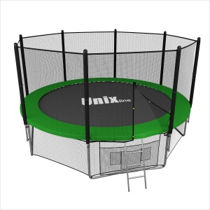 Спортивный батут UNIX line 14 ft outside (green)