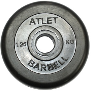 Диск MB Barbell MB-AtletB26-1,25