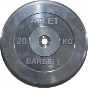 Диск MB Barbell MB-AtletB31-20