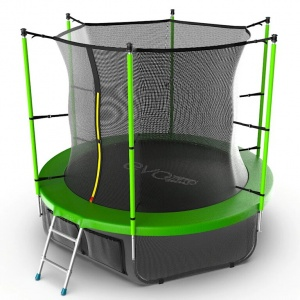 Спортивный батут Evo Jump Internal 8ft Lower net Green