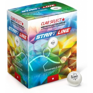Мячи Start Line Club Select 1 New (120 шт.)