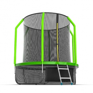 Спортивный батут Evo Jump Cosmo 6ft Lower net Green