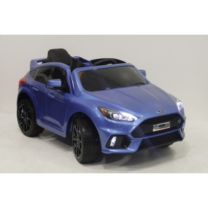 Электромобиль Rivertoys Ford Focus RS DK-F777 синий глянец