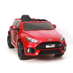 Электромобиль Rivertoys Ford Focus RS DK-F777 красный глянец