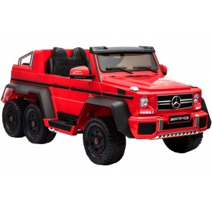 Электромобиль Rivertoys Mercedes-Benz AMG G63 4WD X555XX вишневый глянец