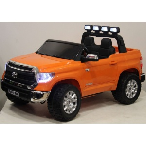 Электромобиль Rivertoys Toyota Tundra JJ2255 оранжевый