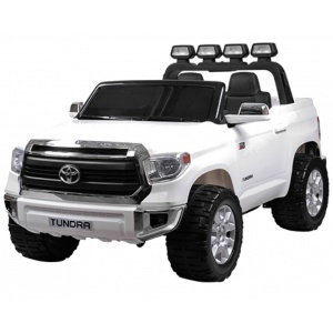 Электромобиль Rivertoys Toyota Tundra JJ2255 белый