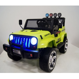Электромобиль Rivertoys Jeep T008TT 4х4 зеленый