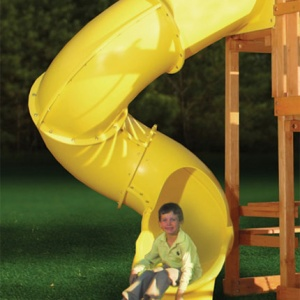 Винтовая горка Playnation Super Tube Slide Yellow