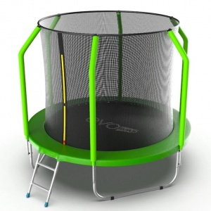 Спортивный батут Evo Jump Cosmo 8ft Green