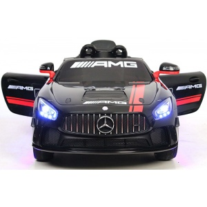 Электромобиль Rivertoys Mercedes-Benz GT4 A007AA черный