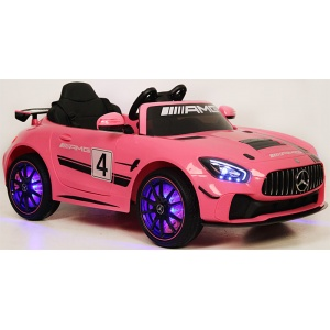 Электромобиль Rivertoys Mercedes-Benz GT4 A007AA розовый