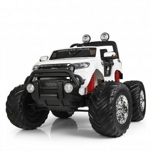 Электромобиль Rivertoys Ford Monster Truck белый