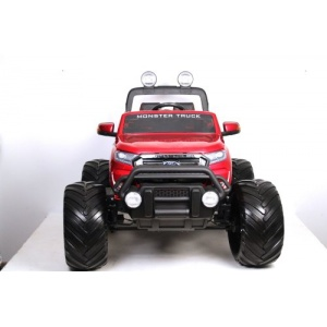 Электромобиль Rivertoys Ford Monster Truck вишневый