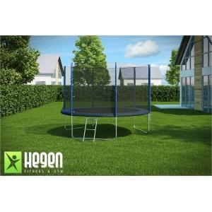 Большой батут для дачи с сеткой HEGEN External 12ft 366 см