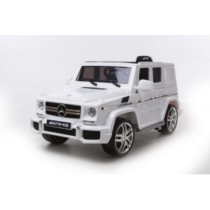 Электромобиль Barty Mercedes-Benz G63 AMG BBH-0003 белый