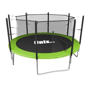 Спортивный батут UNIX line Simple 12 ft Green (inside)