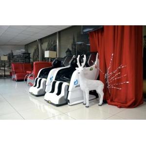 Массажное кресло Yamaguchi YA-6000 Axiom бело-черное