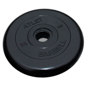 Диск MB Barbell Atlet 25 кг 51 мм