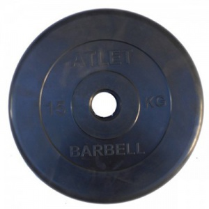 Диск MB Barbell Atlet 15 кг 51 мм