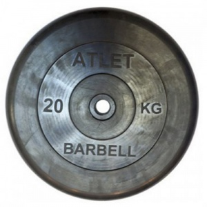 Диск MB Barbell Atlet 20 кг 26 мм