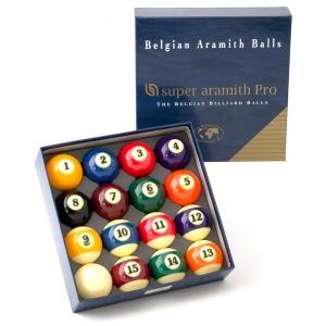 Комплект шаров Aramith Saluc Super Aramith Pro 57.2