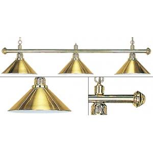 Лампа Weekend Elegance золотистая на 3 плафона