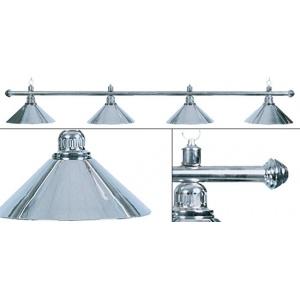 Лампа Weekend Elegance серебристая на 4 плафонов
