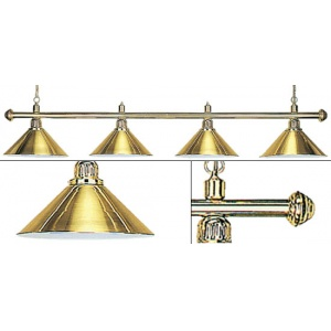 Лампа Weekend Elegance золотистая на 4 плафонов