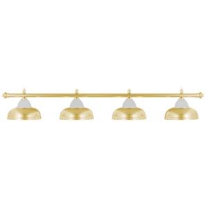Лампа Weekend Crown золотистая на 4 плафонов