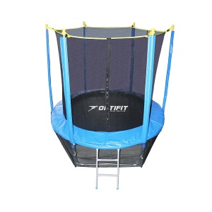 Спортивный батут Optifit Like Blue 8ft 2,44 м