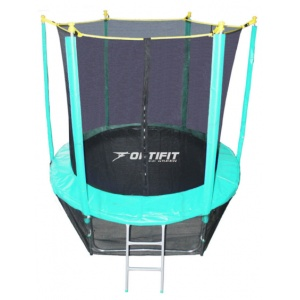 Спортивный батут Optifit Like Green 8ft 2,44 м