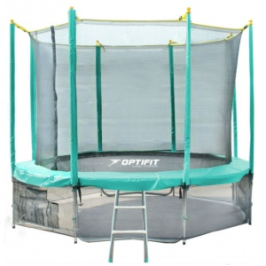 Спортивный батут Optifit Like Green 12ft 3,66 м