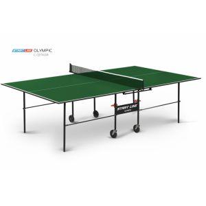 Теннисный стол с сеткой с комплектом Start Line Olympic
