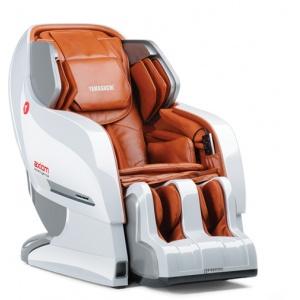 Массажное кресло Yamaguchi YA-6000 Axiom вендинговое, бело-рыжее