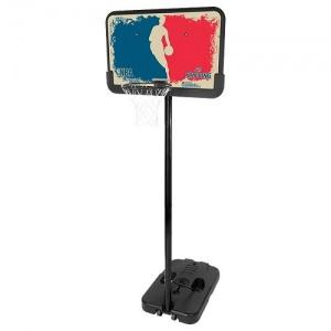 """Баскетбольная стойка SPALDING Logoman Series Portable 44"""" Composite"""