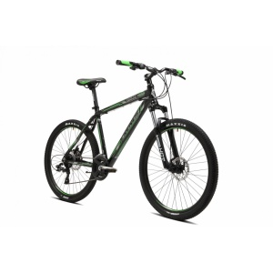 Горный велосипед CRONUS Coupe 3.0 black/green 17.5