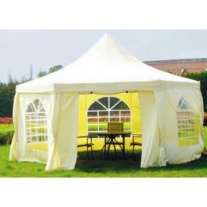 Садовый тент шатер Green Glade 1053 (6 граней) комплект из 2-х коробок